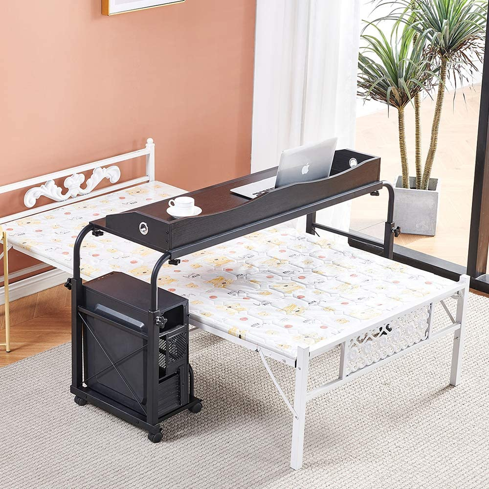 Overbed Award-winning store Table with sale Wheels 4HOMART Adjustable YVONNEF.L.A.M. Ove