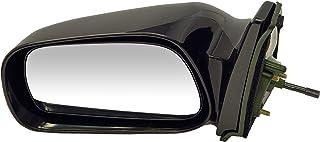 Dorman 955-1435 Driver Side Manual Door Mirror for Select Toyota Models, Black