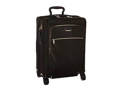 Tumi Larkin Abbey Continental Dual Access 4 Wheeled Carry-On (Black/Gold) Luggage