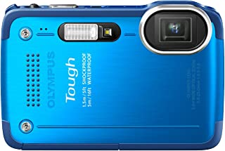 OLYMPUS デジタルカメラ STYLUS TG-630 1200万画素 裏面照射型CMOS 防水性能5m ブルー TG-630 BLU