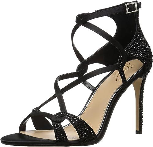 Badgley Mischka Jewel Wohommes Aliza II Heeled Sandal, noir, 8 Medium US