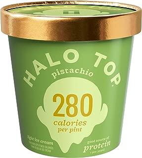 Halo Top Pistachio, 16 oz (Frozen)