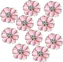 /M/élange de Petites tailles diff/érentes petites rose et prune boutons pour couture et travaux manuels Lot de 100/g/ /Tiny Rose et prune/