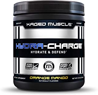 Electrolytes, Kaged Muscle Hydra-Charge Premium Electrolyte Powder, Hydration Electrolyte Powder, Pre Workout, Post Workou...