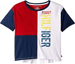 Tommy Color Block Tee (Big Kids)