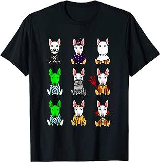 Bull Terrier Dog Lover Halloween Shirt Bull Terrier T-Shirt