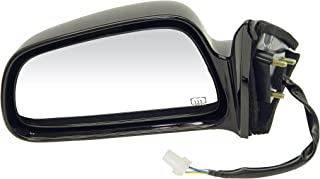 Dorman 955-1313 Driver Side Power Door Mirror - Heated for Select Mitsubishi Models, Black