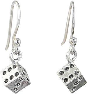 e31be59cc2446 Amazon.com: dice earrings