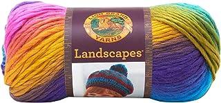 """Lion Brand Yarn Company 100 g 100 Percent Acrylic """"Landscapes"""" Yarn Ball, Broadwalk"", 545-201"