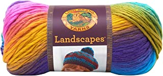 Lion Brand Yarn  545-201 Landscapes Yarn, Boardwalk