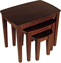 Winsome Wood Bradley Accent Table, Antique Walnut
