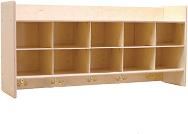 Contender C51409 Wall Locker Cubby Storage Without Trays