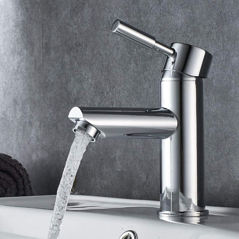 Damoyar Chrome Cloakroom Bathroom Basin Waterfall Mixer Monobloc Bath Tap, Bathroom Single Handle Sink Lever taps B027