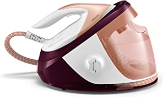 Philips PerfectCare Expert Plus Steam Generator Iron with 1.8L Detachable Water Tank & OptimalTemp Technology, Bronze/Whit...
