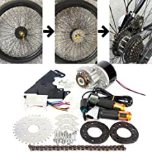 L-faster 24V36V250W Electric Conversion Kit for Common Bike Left Chain Drive Customized..
