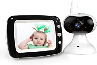 Sailstar smart home-Video Baby Monitor with Two Way Talkback/Audio, LCD Display Screen, Night Vision, Temperature Sensor, ...