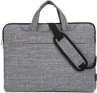 WJTWJSD Laptop Bag Notebook Bag Liner Bag Briefcase Information Bag Shoulder Bag Briefcases (Color : Gray)