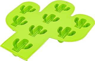 Fairly Odd Novelties FON-10301 Cactus Shaped Ice Cube Tray Funny Novelty Southwest Desert Themed Molds, One Size, Green
