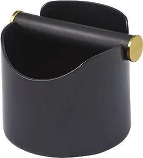 LEAF & BEAN Ibiza Knock Box, Black, DLE0043