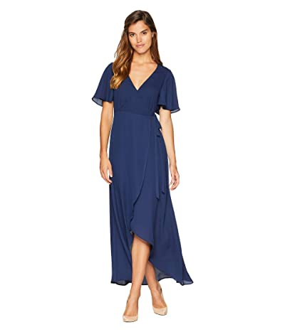 Show Me Your Mumu Marianne Wrap Dress (Navy) Women