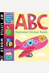 ABC Alphabet Sticker Book Novelty Book