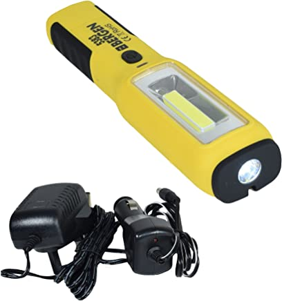 Tools-US Pro Super Bright Rechargeable Magbender Inspection Light Torch Lamp COB LED