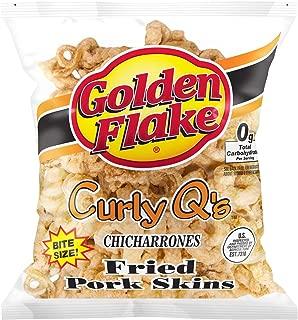Golden Flake Curley Q's Regular, 3.00 oz Bag (Pack 4 Bags)