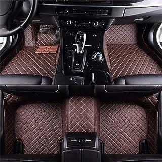 Handao-US Alfombrillas en Velour para Mercedes Benz S AMG 65 63L 4MATIC 4-Door 5 Seat 2014-2018 Alfombrillas de Coche Moqueta para Coche Negro Rojo