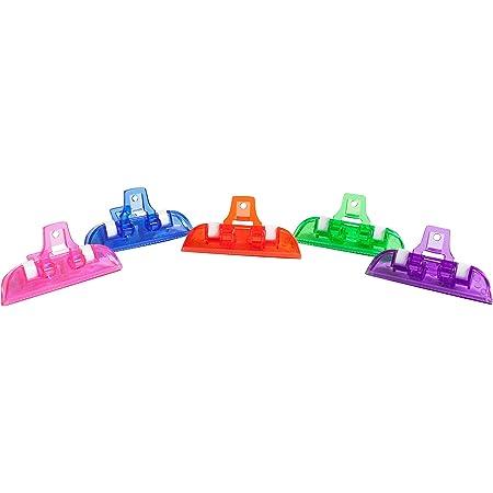 Brite Concepts, Multi-Clips, Plastic, Assorted Bright colors, 5-Count