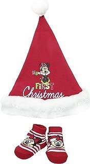 Disney Baby-Girls Newborn Minnie My 1St Christmas Set