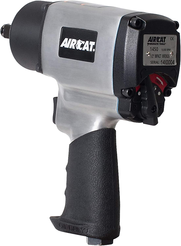 Ranking TOP9 AIRCAT 1450 1 2'' Drive Air Impact Wrench ft High 800 Torque Max 62% OFF lbs
