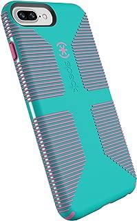 Speck Products CandyShell Grip Cell Phone Case for iPhone 8 Plus/7 Plus/6S Plus/6 Plus - Caribbean Blue/Bubblegum Pink