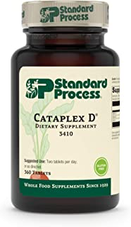 Standard Process Cataplex D - Whole Food Immune Support, Digestive Health, Bone Strength and Bone Health with Cholecalcife...
