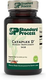 Standard Process - Cataplex D - Vitamin D Supplement, 1000 IU Vitamin A, 1600 IU Vitamin D, Calcium, Supports Bone Density and Health, Immune System Function, Gluten Free and Vegetarian - 360 Tablets