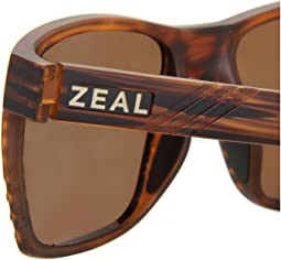 Matte Wood Grain w / Copper Polarized Lens
