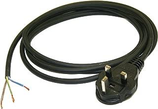 Black 250VAC Voltage 13A Rating Interpower 88040021 United Kingdom//Ireland Rewirealbe Plug