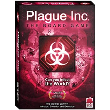 Ndemic Creations Plague Inc. The Board Game - Juego de Mesa ...