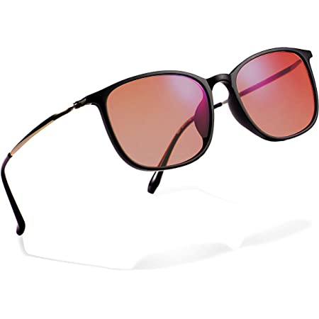 Amazon.com: Color Blindness Glasses for Men - Premium High Contrast Colorblind  Glasses - Lightweight Men's Color Blind Correcting Glasses Enhanced Color  Correction for Red, Green, Blue, Yellow, Purple (Black): Home Audio &