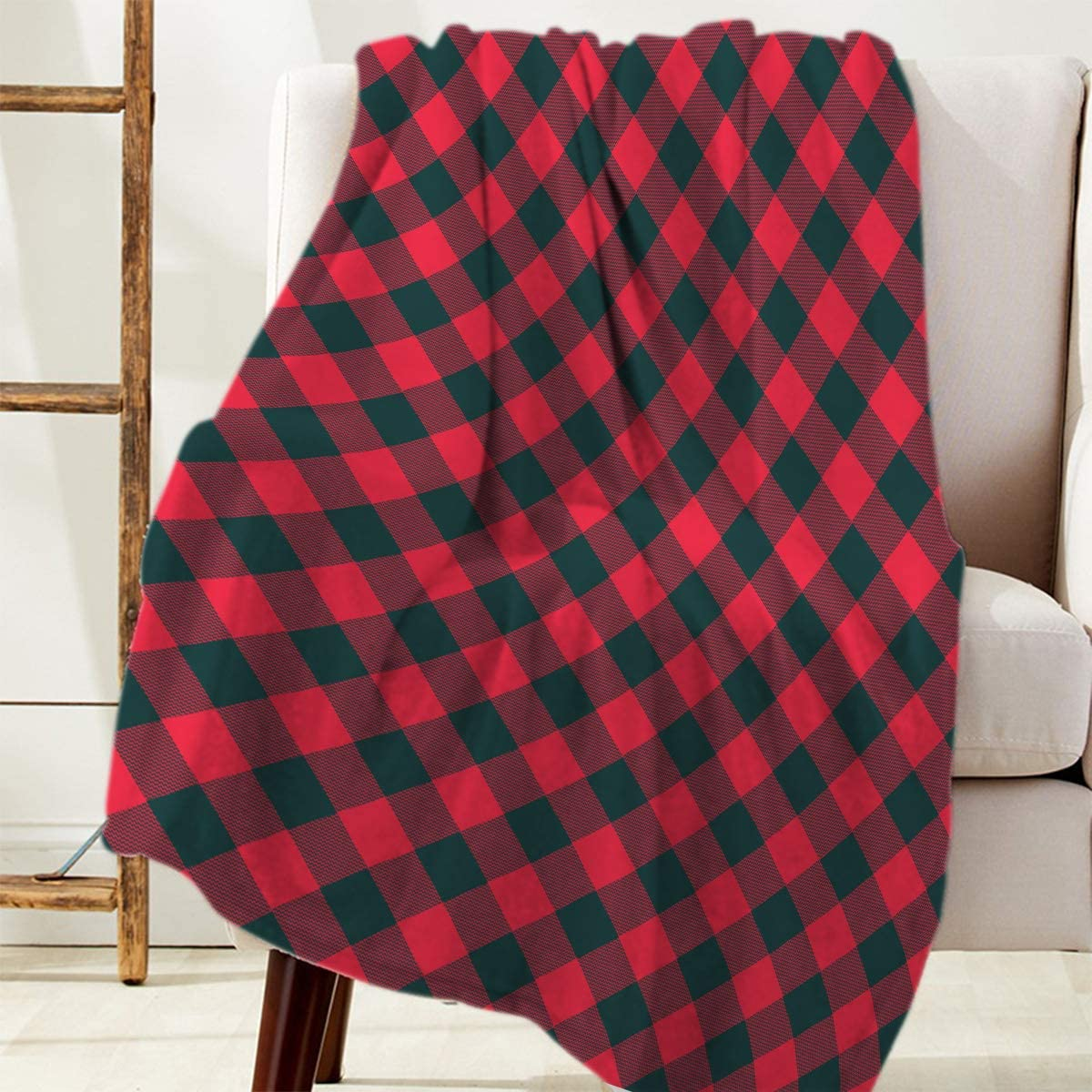 Fuzzy Fleece Blanket Throw for Luxury Season Columbus Mall Couch All Max 84% OFF