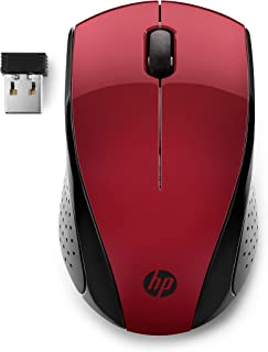 HP Wireless Mouse 220 (Sunset Red)
