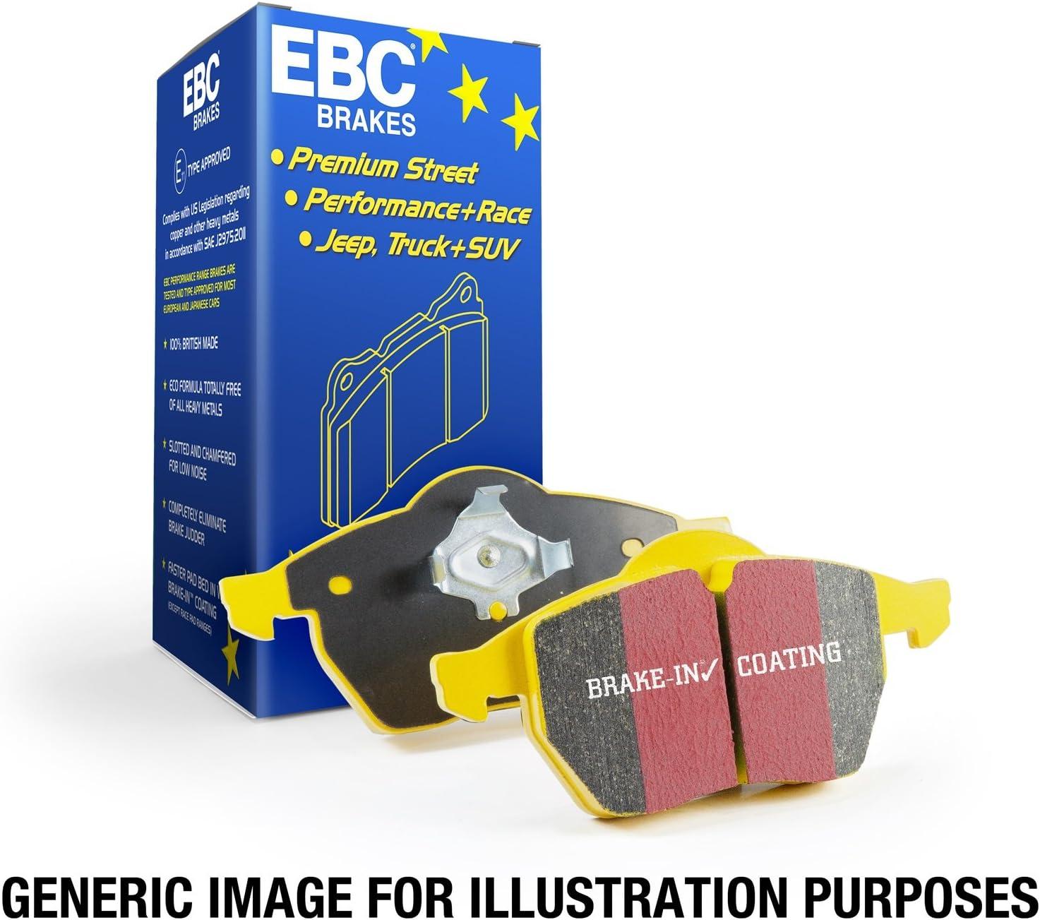 EBC Max 46% OFF Max 41% OFF Brakes DP43049R Yellowstuff Brake Performance Pad