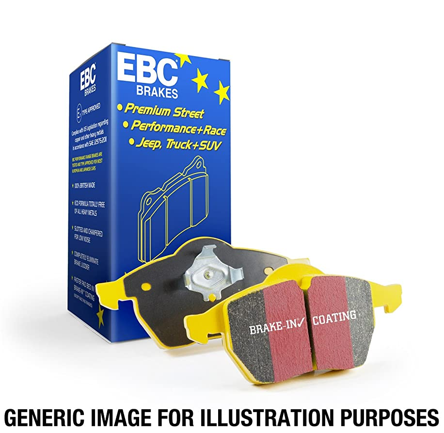 EBC Brakes DP41996R Yellowstuff Street and Track Brake Pad