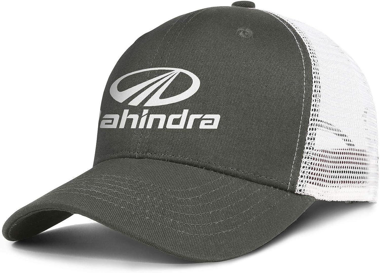 Unicorns Farting Mens Womens Baseball Cap Relaxed Mahindra-White-Logo- Messy Adjustable Trucker Hat Flat Cap : Clothing, Shoes & Jewelry