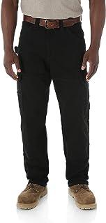 Wrangler Riggs Workwear Men's Ranger Pant,Black,34x32
