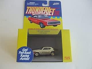Johnny Lightning ThunderJet 500 - HO Scale - Pull Back Action Plymouth Superbi Metallic Candy(Chrome) GOLD