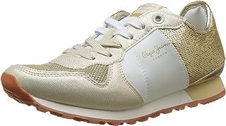 Pepe Jeans Verona W Sequins, Sneakers Basses Femme