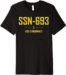 SSN-693 USS Cincinnati T-shirt