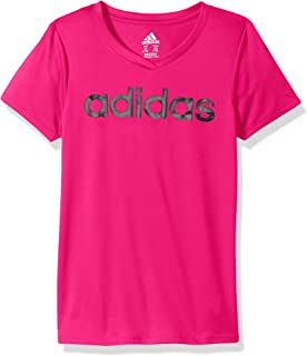 Girls' Big V-Neck Performance T-Shirt
