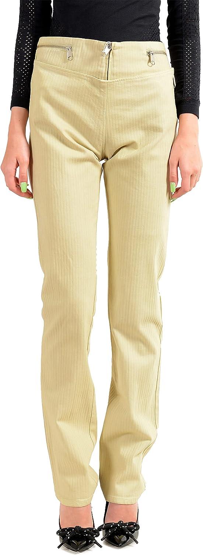 Maison Margiela Women's Beige Casual Pants US M IT 42