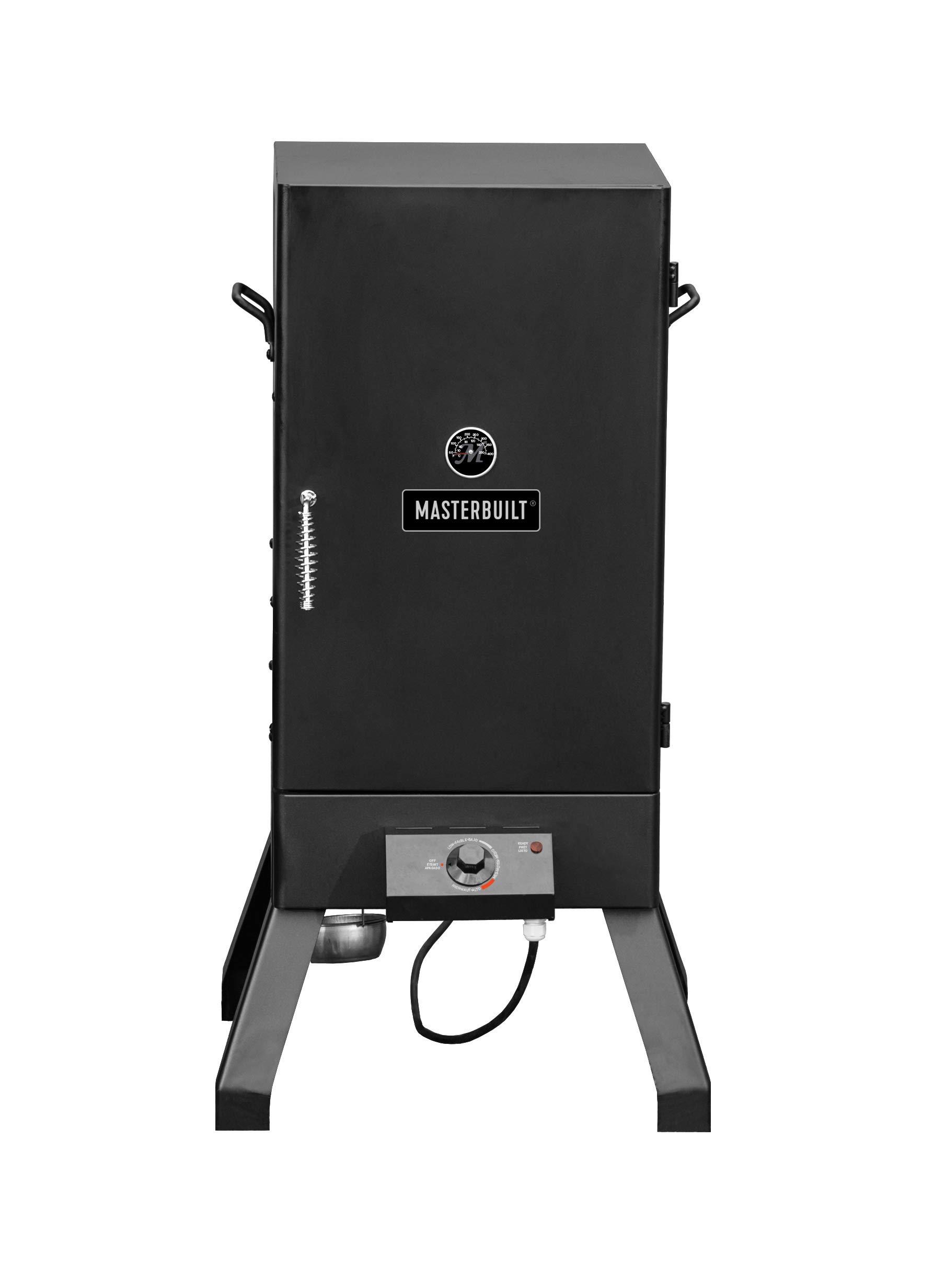 Masterbuilt MB20077618 Electric Smoker Black